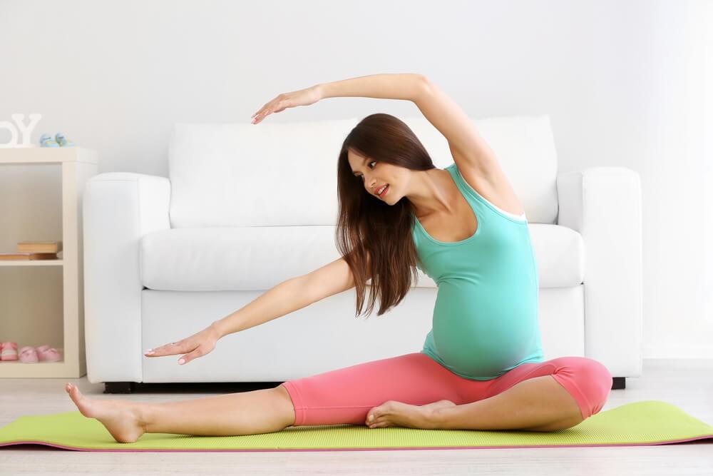 yoga+ketika+hamil