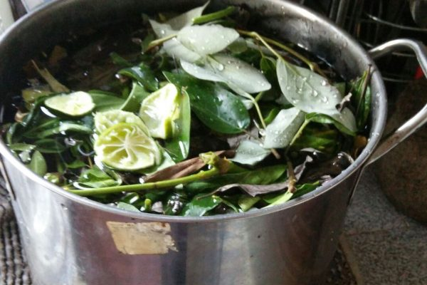 mandi herba kursus rawatan selepas bersalin